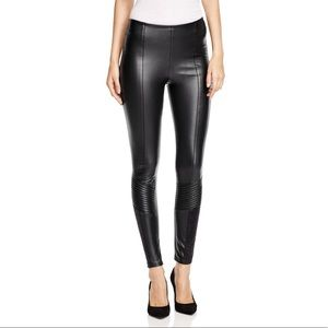 Lysse Faux Leather Moto Style Legging
